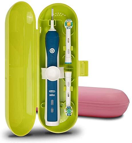 Cepillo de dientes eléctrico de plástico Estuche de viaje compatible con Oral-B...