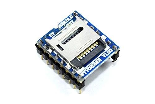 WTV020AD4/WAV Codec Decoder Modul MP3-Player Fat Schlüssel SPI