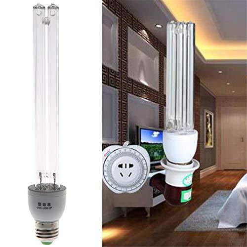 SQL 20W E27 220V AC UV-Licht UV-C UV-Desinfektion Ozon-Entkeimung Lampen Entkeimungslampe