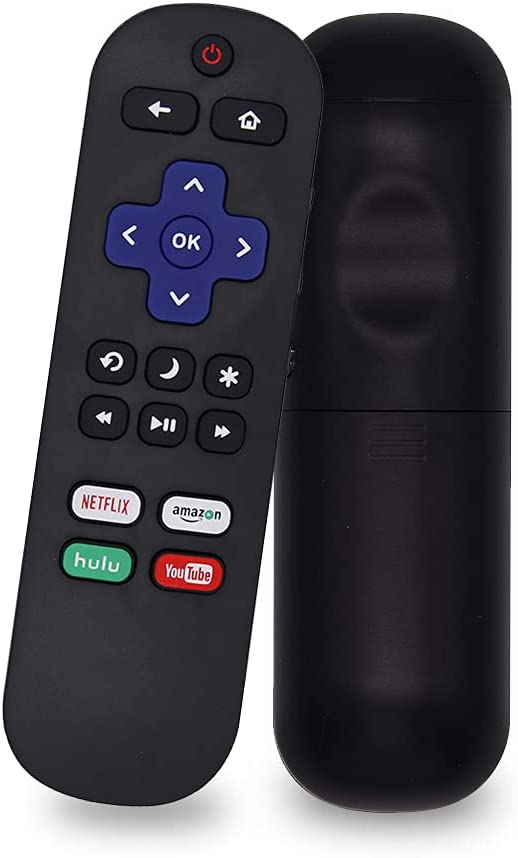 SIUMAL Universal Remote Control for TCL Roku TV Remote Compatible with All TCL Roku LED Smart TV with Netflix Amazon Hulu YouTube Buttons - No Setup Required
