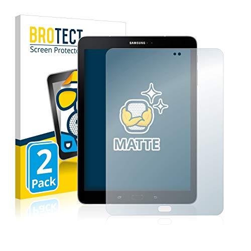 brotect Pellicola Protettiva Opaca Compatibile con Samsung Galaxy Tab S3 WiFi Pellicola Protettiva Anti-Riflesso (2 Pezzi)