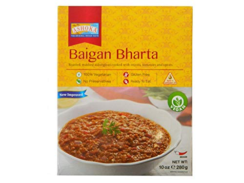 3x Ashoka Baigan Bharta Fertiggericht 280g