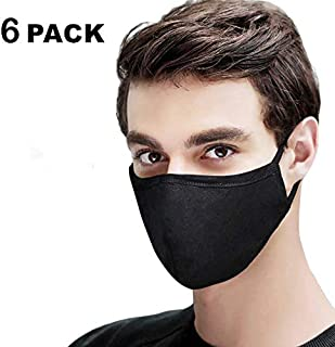 Cotton Mouth Mask, Anti Dust Air Pollution Face Mouth Mask, Unisex Mouth Mask, Washable, Reusable Cloth Mask for Cycling Camping Travel