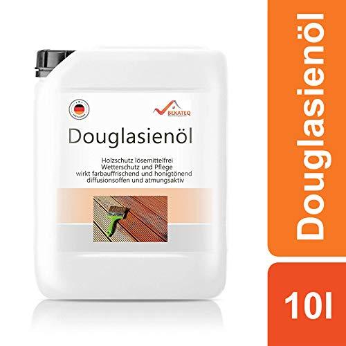 BEKATEQ Douglasien Öl BE-291 für Holz- und Gartenmöbel - 10l