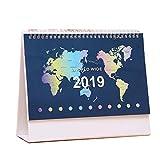 Schöner Notizblock-Schreibtisch-Kalender-Planer für Haus / Büro 2018-2019 Jahre, # 05