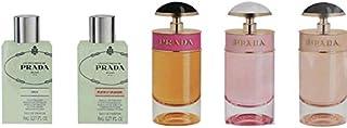Prada Miniatures Perfume Gift Set for Women - Assorted Fragrances, 8ml + 7ml, 5 COUNT