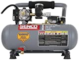 Product Image of the Senco PC1010 1/2- Horsepower 1-Gallon Matte Finish and Trim Portable Hot Dog Air Compressor, Gray/Red