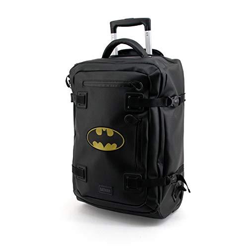 KARACTERMANIA Batman Batsignal-Maleta / Mochila TPU, Black