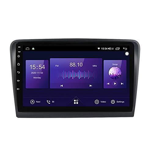 Flower-Ager Autoradio Radio de Coche 2 DIN Bluetooth para Skoda Superb 2008-2015 HD Pantalla táctil Micrófono de Apoyo BT5.0 Built-in carplay+Cámara de Visión Trasera(Gift),7862,6+128G