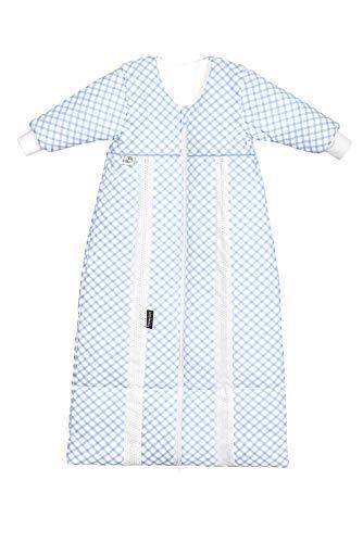 Odenwälder Prima Klima Thinsulate Schlafsack check, Größe:70-90, Design:cool blue