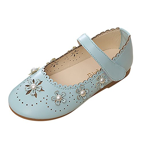 Manadlian Chaussures de Princesse Flower Wave Pearl Princess Chaussures Simples Chaussures de Sport Chaussures de Soirée Chaussures Filles Casual 2018 Nouveau