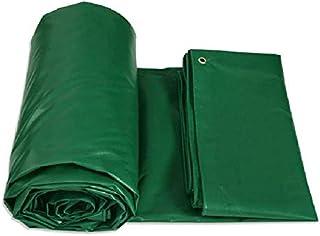 ZBM - ZBM Persenning, Abdeckplane Mit Ösen For Gartenmöbel, Pool, Auto, LKW, Wasserdicht Und Reißfester PVC-Schutz Grün Tarp wasserdichte Plane (Color : Green, Size : 8m×6m)