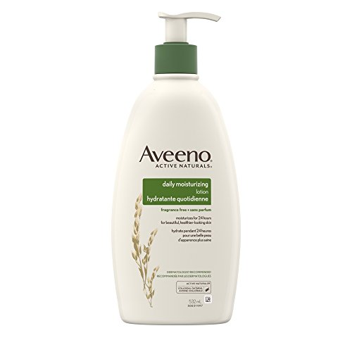 Aveeno Daily Moisturizing Lotion with Pump for Dry Skin, 532ml
