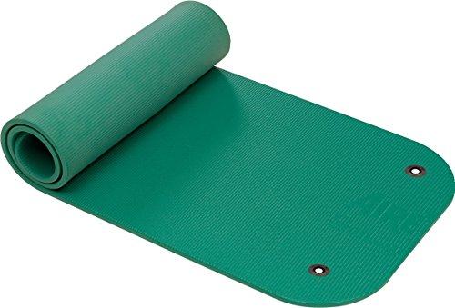 AIREX Matte Coronella mit Spezial-Ösen Fitness Workout Sport 185x60x1,5 cm grün