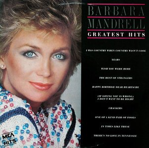 BARBARA MANDRELL - greatest hits MCA 5566 (LP vinyl record)