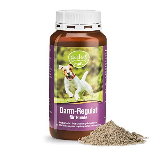 tierlieb Darm-Regulat für Hunde Probiotisches Diät-Ergänzungsfuttermittel zur Stabilisierung der physiologischen Verdauung, 160 g Pulver
