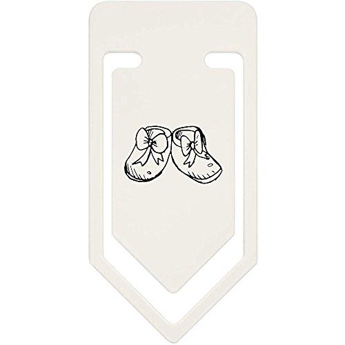 Azeeda 91mm 'Baby Schuhe' Große Plastik Büroklammer (CC00023319)
