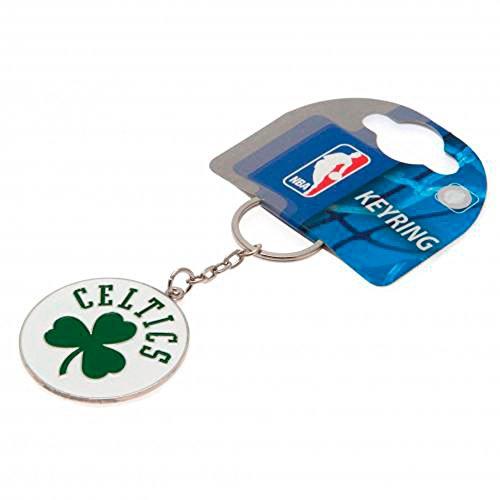 Boston Celtics Basketball NBA Schlüssselanhänger Metal Clover Crest Official