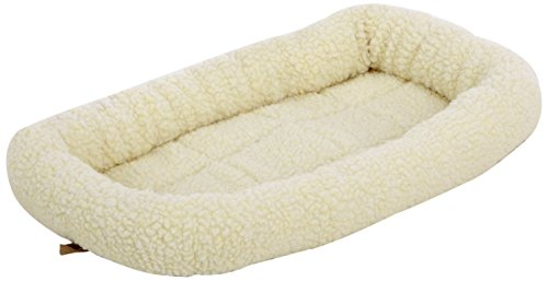 AmazonBasics Padded Bed Bolster Bed, Extra Small