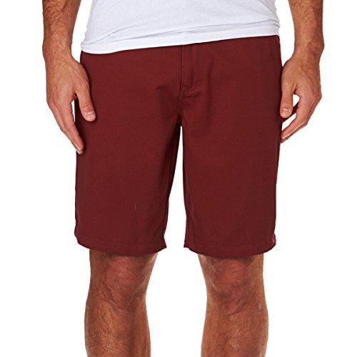 Volcom Frozen Regular Chino Short pour Femme, Homme, Kurze Hose Frozen Regular Chino Shorts, Crimson