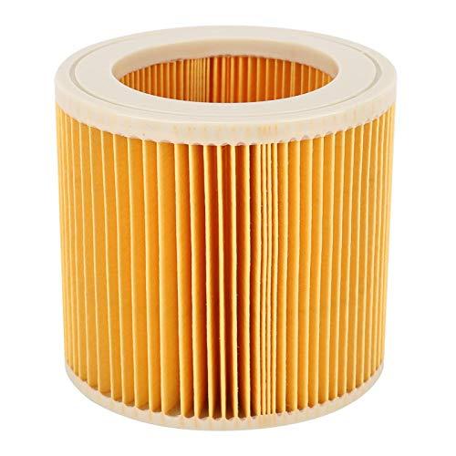 Cartucho de filtro de aspiradora duradero filtro de polvo inofensivo para Kacher A2004 A2054 para mejorar el rendimiento