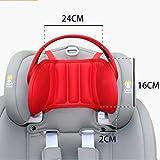 Feketden - Reposacabezas para asiento infantil de coche, reposacabezas para asiento de coche, protector de cabeza ajustable