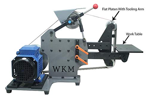"""2""""X72"""" Belt Grinder Knife Maker Machine + Flat Platen Grind with tooling arm set and Mini work table"""