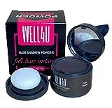 WELL4U - Haar Ansatz Puder - Make-up für Ihre Kopfhaut / in 11 Farben - wasserfestes Ansatzpuder für Frau und Mann - gezielter als Kaschierspray, Kaschierstift oder div. Concealer - Hair Line Powder