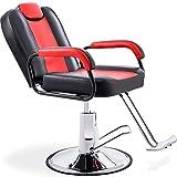 Merax Hydraulic Recliner Barber Chair for Hair Salon with 20% Extra Wider Seat & Heavy Duty Hydraulic Pump