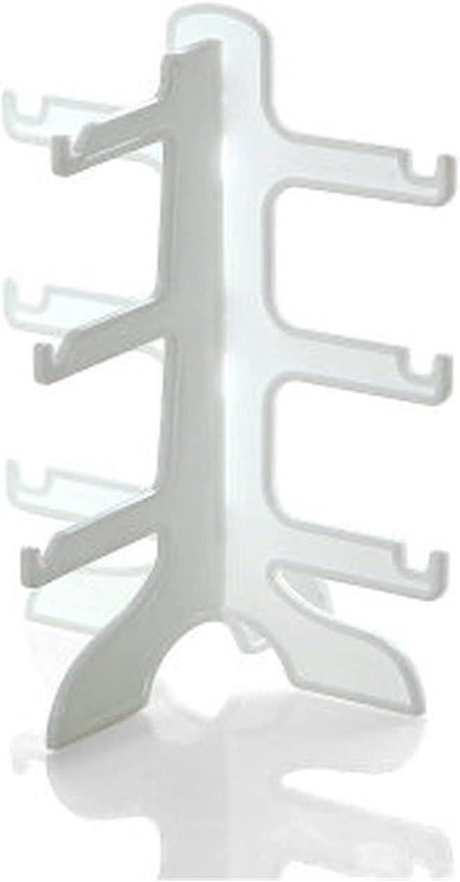 ZQDMBH Plate Stand,Eyeglass Holder 3/4/6 Layers Plastic Sunglass