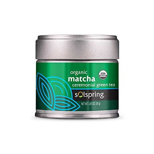 Dr. Mercola, Organic Royal Matcha Green Tea Powder, 1.06 oz (30 Servings), Immune Support, Brain and Liver Support, USDA Certified Organic, non GMO, Soy-Free, Gluten-Free