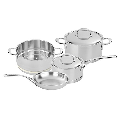 Demeyere Atlantis 7-Ply Stainless Steel Cookware Set, 6-pc