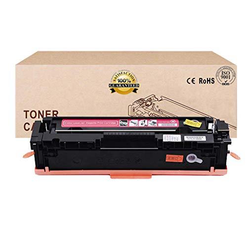 Compatible con CF410A CF411A CF412A CF413A Cartucho de tóner para HP Color Laserjet Pro M452dw / 452Dn / 452Nw / M377dw / M477fnw / M477fdn / M477fdw,Rojo