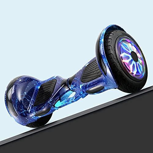 RENSHUYU Hoverboard con Ruote Grandi da 13 Pollici, con Altoparlante Bluetooth, Ruota Luminosa, bellissime luci a LED, Hoverboard per Bambini, Adolescenti e Adulti