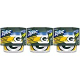 Ziploc Food Storage Meal Prep Containers, Small, 2 Count, Pack of 3 (6 Total Containers), Twist N Loc- NFL Green Bay Packers