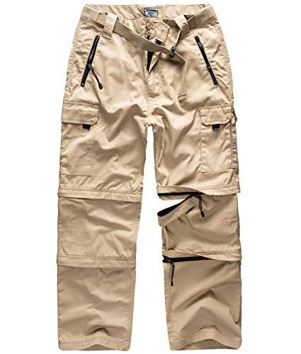 Surplus Raw Vintage Herren Cargo Trekkinghose, beige, S