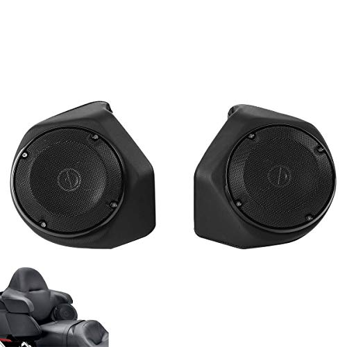 """Green-L 6.5"""" Rear Speakers Fit For Harley Touring Tour Pack Street Glide Road King Electra Glide 2014-2020"""