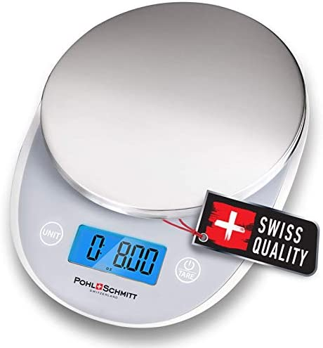 Pohl Schmitt Digital Food Kitchen Scale Multifunctional Weight Measuring for Cooking and Baking product image