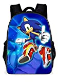 Sonic Mochila Sonic Figures Mochila Sonic The Hedgehog Students School Bags Cartoon Book Pencil Bag Anime Toys For Children Gifts