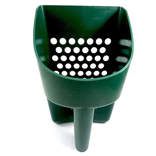 SE Prospector Series Green Sand Scoop for Metal Detecting - GP3-SS20