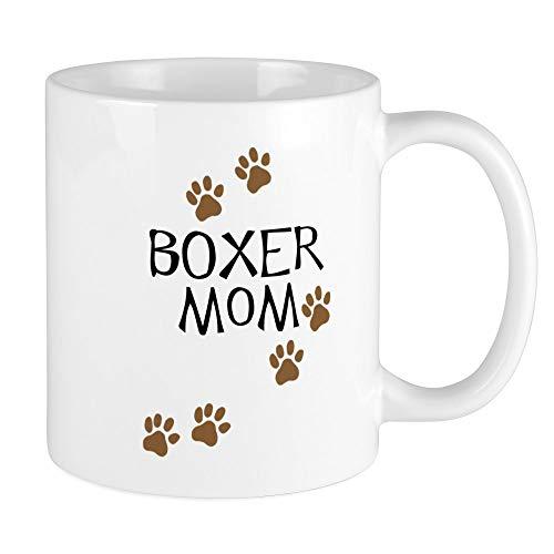 CafePress - Boxer Mom Mug - Unique Coffee Mug, Coffee Cup,...