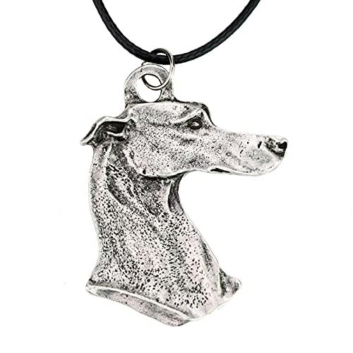 Metall Anhänger Halskette Hundehalskette Haustier Hund Geeignet Für Windhund Rettungshund Herren Halskette Persönlichkeit Trend Beliebt Niedlich