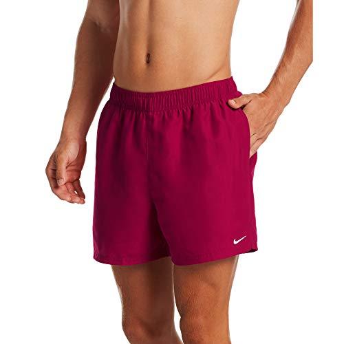 Nike 5 Volley Short Costume da Bagno, da Uomo, Colore: Rosso, S