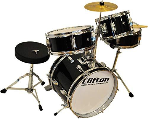 Clifton Junior Bambini Percussioni Drum Set incluso Sgabello e Bacchette