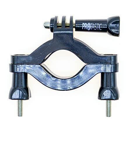 PROtastic® Barra de rodillo jaula patíbulo Bar tubo (35-63mm) montaje motocicleta bicicleta manillar compatible con Gopro Hero/cámaras de acción SJCAM