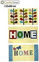 Confortime Cocogoma Home Doormat, 33 x 60 cm, Assorted Designs, Multi-Colour, One Size