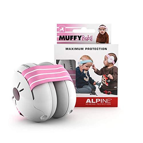 Alpine Baby Muffy Bouchon d'oreille pour enfant – pour enafant et tout-petits jusqu'à 36 mois - Protection...