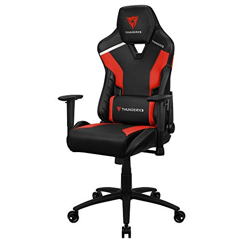 Thunderx3 Tc3 Cadeira Gamer Tc3 Ember Red, Vermelha - Not_machine_specific