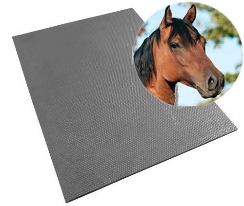 Gummi-Stallmatte | 90 x 120  x 1,7 cm (L x B x H)