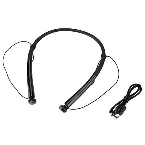 Surebuy Auriculares de Diadema de Alta sensibilidad, para teléfono móvil(Black)